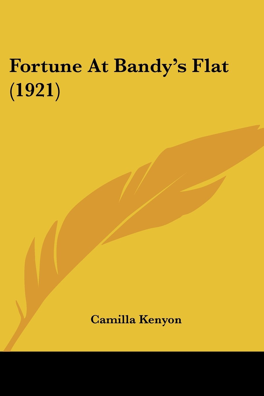 Fortune At Bandy's Flat (1921) pdf