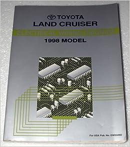 1998 toyota land cruiser electrical wiring diagram (uzj100 series): toyota  motor corporation: amazon com: books