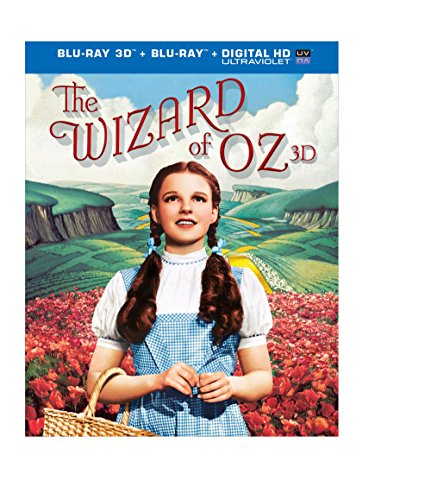 Blu-ray 3D : The Wizard of Oz (75th Anniversary) (With Blu-Ray, Anniversary Edition, Ultraviolet Digital Copy, 3 Dimensional, Slipsleeve Packaging)
