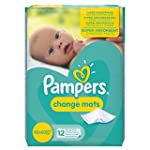 Pampers Change Mats - 5 x Packs of 12...