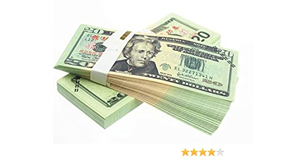 1//6th Scale Accessories Australian Play Money 2 Sheets of  $5 Banknotes