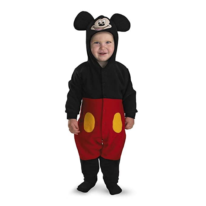 Mickey Mouse Infant Costume - Size 12-18 months  sc 1 st  Amazon.com & Amazon.com: Mickey Mouse Infant Costume - Size: 12-18 months: Clothing