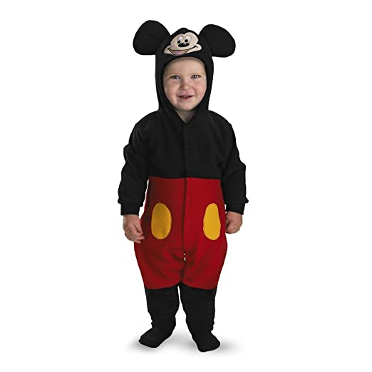 25f2bfb8f7dd Amazon.com  Mickey Mouse Infant Costume - Size  12-18 months  Clothing
