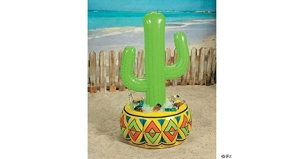 Amazon.com: 4 ft vinilo inflable Cactus Cooler [Juguete ...