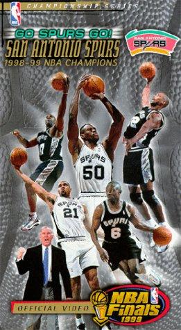 Go Spurs Go: San Antonio Spurs 1998-99 NBA Champions [VHS]