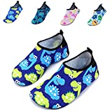 Vivay Toddler Kids Water Shoes Quick Drying Swim Beach Shoes Aqua Socks for Boys & Girls …