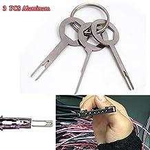 Removel Key Tool Kit 3pcs Car Electrical Terminal Wiring Crimp Connector Pin