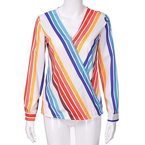 Manga Tops Multicolor Pullover Larga Talla Grande de Mujer de Holgada Chaqueta 1 Blusa Camisetas BBestseller Ropa Abrigo 8I0qWWZ