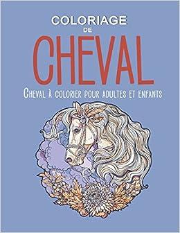 Coloriage Cheval Pour Adulte.Coloriage De Cheval Cheval A Colorier Pour Adultes Et Enfants