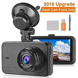 Loop Recording Motion Detection Car Driving Recorder Camera Lamtto Car Camera 1080P Full HD 3 LCD Screen 170/°Wide Angle Dashboard Camera G-Sensor Dash Cams for Cars Dash Cam Parking Monitor WDR
