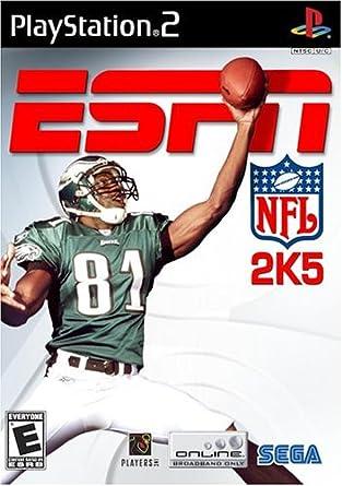 Amazon Com Espn Nfl 2k5 Playstation 2 Limited Artist Not Provided Video Games