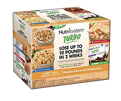 Nutrisystem® TURBO Homestyle 5 Day Weight Loss Kit