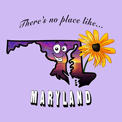 [There's No Place Like Maryland - Vinyl Sticker] (Wizard Of Oz Witch Socks)