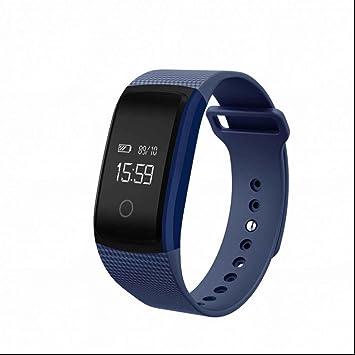 Tracker dActivité Cardiofréquencemètre,Montre Connectée avec Podomètre Compteur Calorie Notification Appel SMS APP
