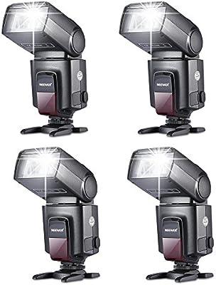 Neewer® Kit (4 TT560 * Flash Speedlite para Canon, Nikon, Olympus ...