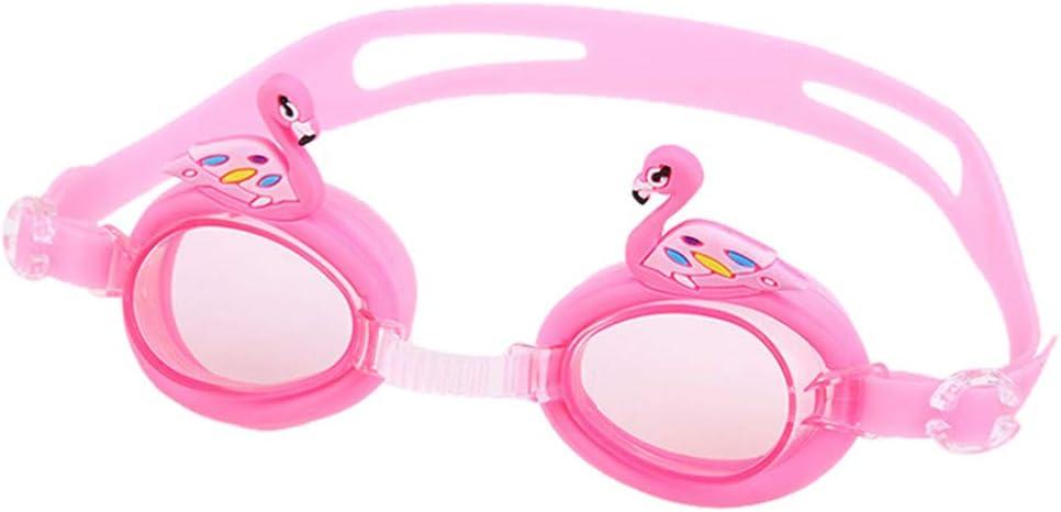 QinMMROPA Gafas de natación para 3-15 años niños niñas, Gafas de natación Junior niños Piscina bucear Gafas de natación de Silicona