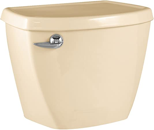 American Standard 4061.016.021 Evolution 2 Right Height Elongated Toilet Tank Only with Coupling Components and Tank Trim Bone Tank Only