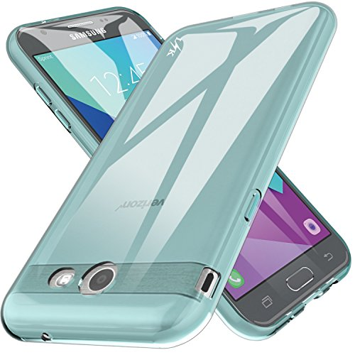 for Samsung Galaxy J7 V / J7 2017 / J7 Prime / J7 Perx / J7 Sky Pro/Galaxy Halo Case, LK Ultra [Slim Thin] TPU Rubber Soft Skin Silicone Protective Case Cover (Mint)