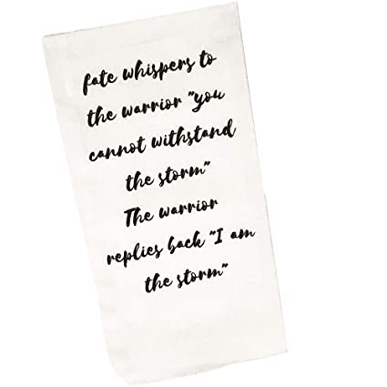 Inspirational Gifts for Women - Motivational Quote Towel Make Perfect  Thinking of You Gifts | Printed Design on White Hand Towel | Encouragement  Gifts