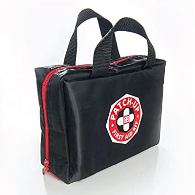 First Aid Kit From Patch-Up (270 pieces-39 unique medical items) Designed For Family Emergency Care. Compact-Waterproof-Nylon Bag Is Ideal For Home-Car-Boat-Sports-Outdoors. Protect Your Loved Ones.