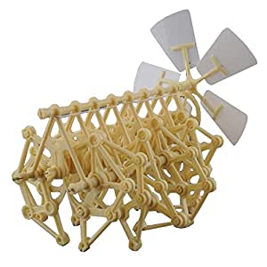 HEYZLASS Mini Strandbeest Model Kit, Interesting and Creative Gift for Birthday Holiday