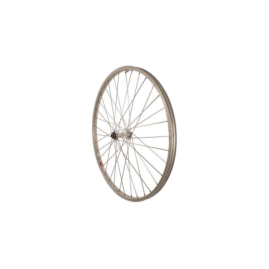 Sta Tru Silver Alloy ATB Hub Quick Release Front Wheel (26X1.5 Inch)