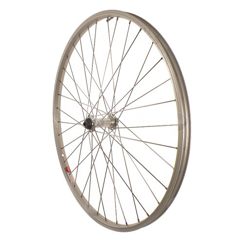 Sta-Tru Silver Alloy ATB Hub Quick Release Front Wheel (26X1.5-Inch) (Front Wheel Bearing For Bicycle compare prices)