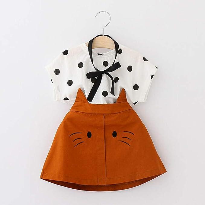 Amazon.com: Conjunto de 3 piezas de ropa para niñas con ...