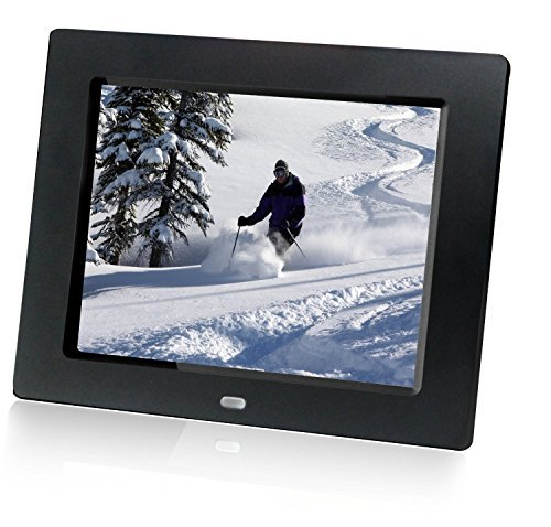 HP df810v1 8-Inch Digital Picture Frame (Contemporary Black) (Discontinued by Manufacturer) ()