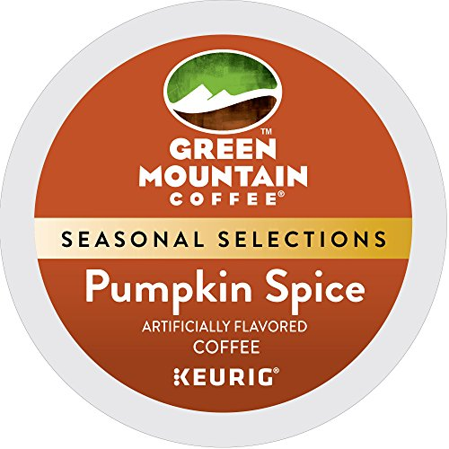 Green Mountain Coffee Pumpkin Spice Single-Serve K-Cup Pods, 24 Count
