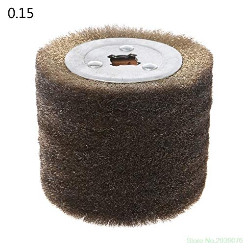 Maslin New Arrival Deburring Abrasive Stainless Steel Wire Round Brush Polishing Grind Buffer Wheel Drop Shipping Support - (Size: 0.3) by Maslin (Image #5)