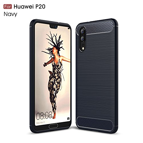 Huawei P20 Case,P20 Case,DAMONDY Brushed Armor...