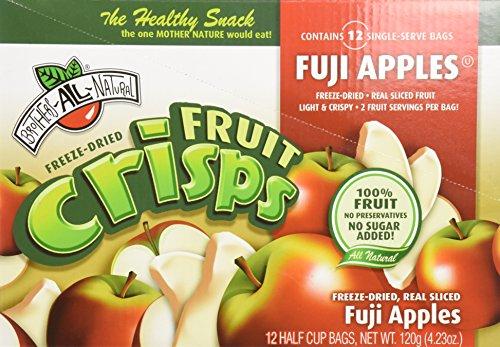 Brother's All Natural Fruit Crisps Fuji Apple Fuji Apple ...