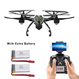 LiDi RC JXD HD real-time camera equipped with FPV drone high-hold mode headless mode One key of return RC Quad Copter (510W)