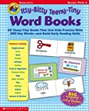 Itty-Bitty Teeny-Tiny Word Books, Scholastic, Inc. Staff, 0439411270