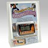 Countdown Clock - Events of a Lifetime - 30 Interchangeable Clock Faces