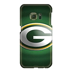 Samsung Galaxy S6 KlV1181EMcK Allow Personal Design Realistic Green Bay Packers 11 Pattern Shockproof Cell-phone Hard Cover -TrevorBahri