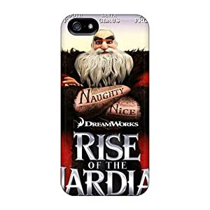 Jeffrehing Scratch-free Phone Case For Iphone 5/5s- Retail Packaging - Cartoons Rise Of The Guardians by icecream design