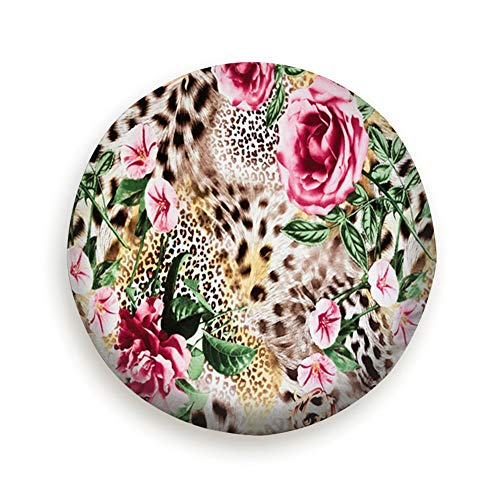 - Spare Tire Cover Print Fabric Striped Leopard Flower Wheel Covers Universal Tires Protectors