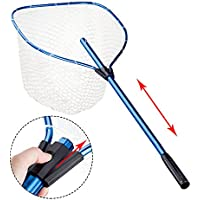 Fishing Landing Net Aluminium Alloy Handle Fishing Net...