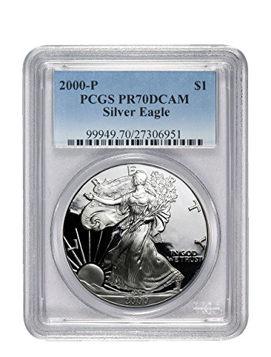 2000 P American Eagle Dollar PR70 PCGS