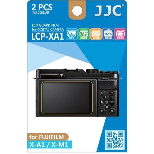 Polycarbonate Lcd - JJC LCP-XA1 ultra hard polycarbonate LCD Film Screen Protector For Fuji X-A1 X-M1 2 Pack