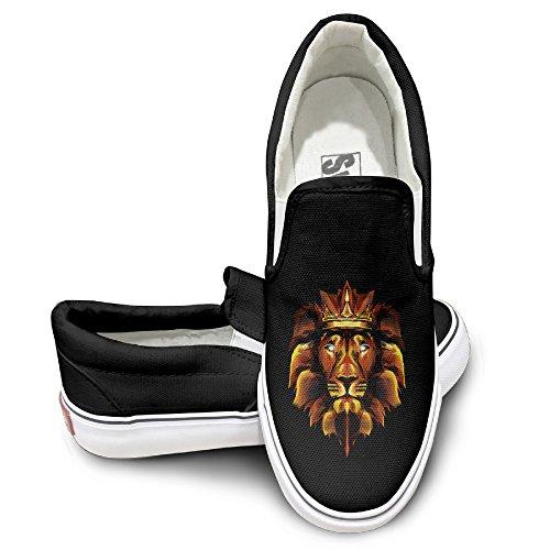ALIPAPA Custom Men's & Women's Custom Animal King Of Lions Pump Black Size - Dwayne Sunglasses