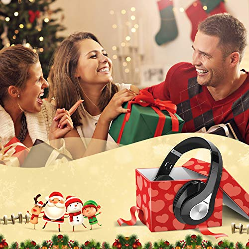 Large Product Image of Mpow 059 Bluetooth Headphones Over Ear, Hi-Fi Stereo Wireless Headset, Foldable, Soft Memory-Protein Earmuffs, w/Built-in Mic and Wired Mode for PC/Cell Phones/TV