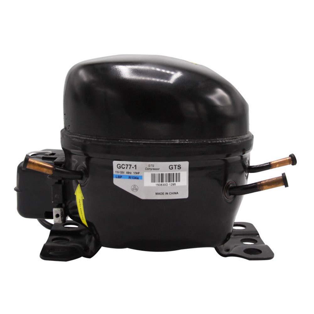 Zeiger GC77-1 Replacement Refrigerator Compressor R134A 60Hz 110V-120V 1/4 HP by Zeiger