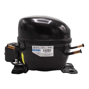 Zeiger GC77-1 - Compresor de refrigerador de repuesto R134A 60Hz ...