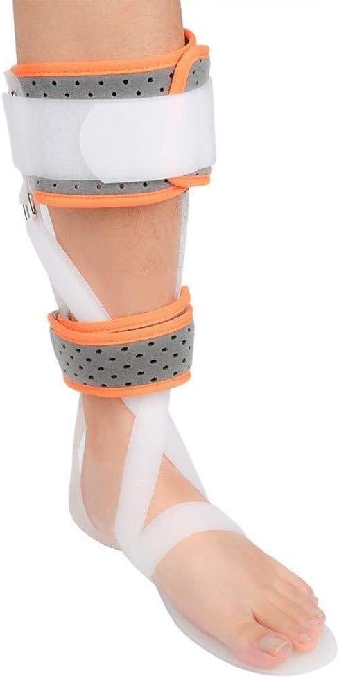 Ortodoncia del pie, tobillo Ortesis del pie Corrección postural del pie ajustable Protector adecuado de la corrección de la extremidad inferior for el esguince de lesiones de espalda y rehabilitación