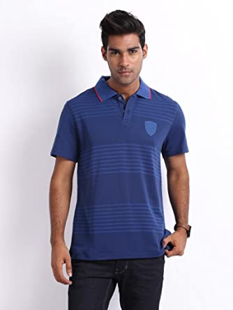 Puma Polo para hombre, color rojo, Monaco Blue, medium: Amazon.es ...