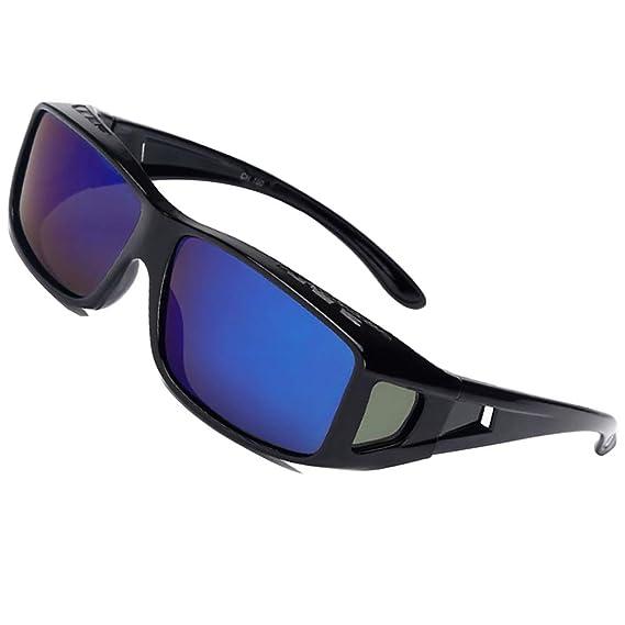 f79a71793b Las gafas de sol polarizadas UV400 se ajustan sobre los anteojos onnebril  para hombres y mujeres