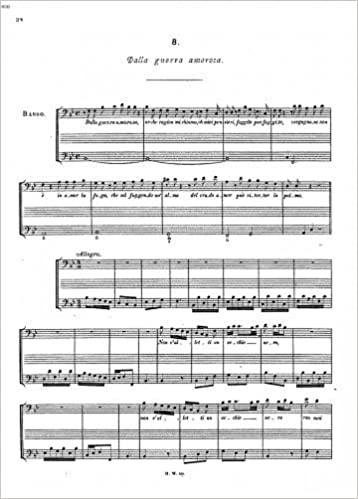 Dalla guerra amorosa, HWV 102 - Score: George Frideric Handel: 0748388209225: Amazon.com: Books